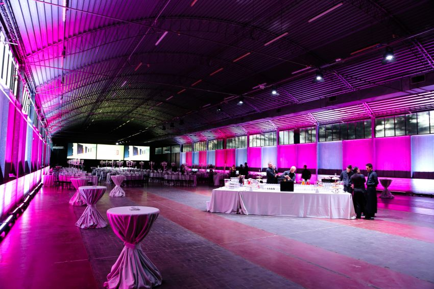 It4fashion 2015 Allestimento Hangar per Gala Dinner