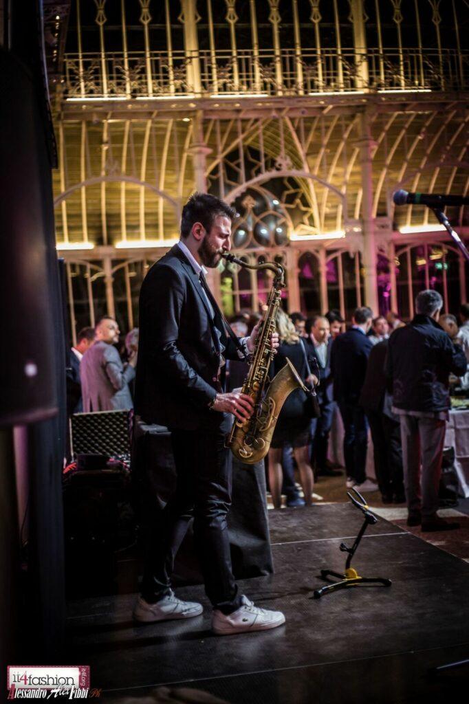Smooth Sax Concert Tepidarium del Roaster Firenze 2017